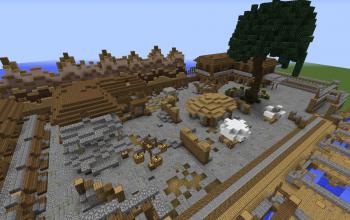 Abandon village