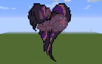 Twilight Sparkle Heart Pixel Art
