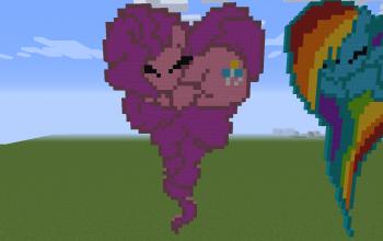Pinkie Pie Heart 2D