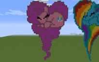 Pinkie Pie Heart Pixel Art