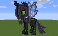 Queen Chrysalis Pixel Art