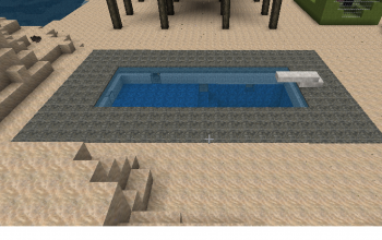 Lighted Swimming Pool
