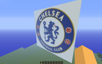 Chelsea Badge Pixel Art