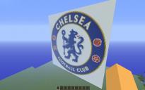 Chelsea Badge Pixel Art