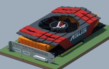 NVIDIA GeForce GTX 595 ARES MARS (ASUS ROG Series) (READ THE DESCRIPTION)