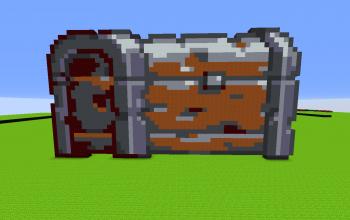 Rusty Chest PixelArt