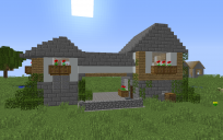 Double medieval house