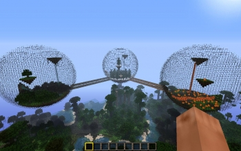 Minecraft Biosphere 3