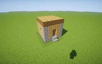 Cube Villager House [1.12]