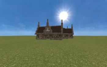building, hous/stal