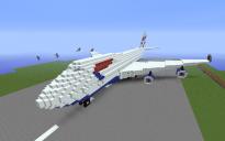 Boeing 747-400 by Zertoren3132