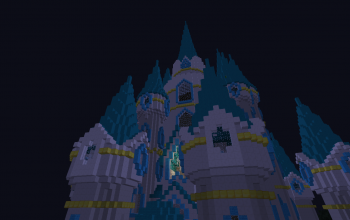 White Disney Castle