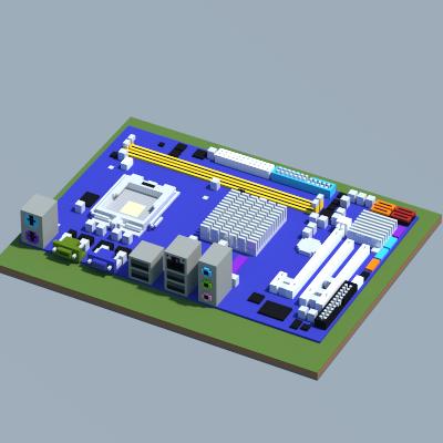 Intel G31M-S (ASRock), creation #10258