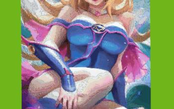 Dark Magician Girl PixelArt