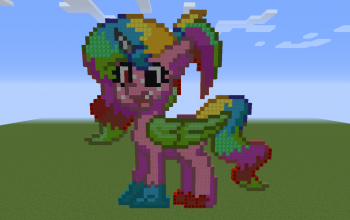 Mary Sue Pony Pixel Art