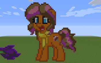 Cheesecake Sprinkle Pony Pixel Art