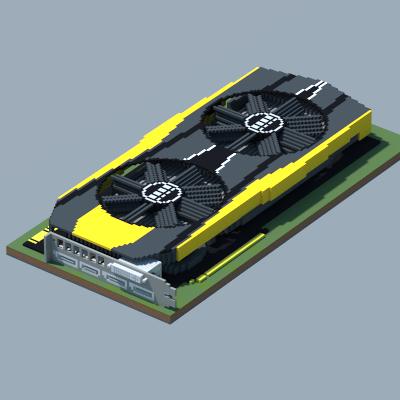 NVIDIA GeForce GTX 980 Ti (20th Anniversary Edition) (ASUS