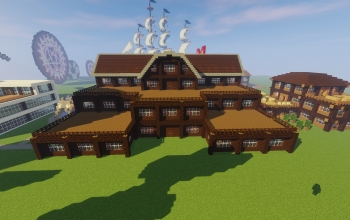 4 story wooden house