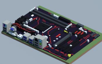 AMD B350-PLUS PRIME (ASUS)
