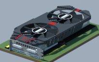 AMD Radeon R9 280X MATRIX PLATINUM (ASUS ROG Series)
