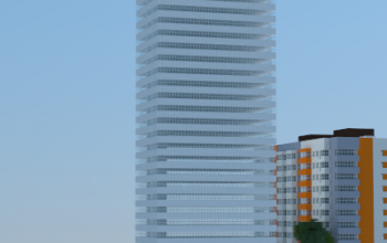 My first building in Minecraft