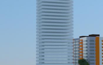 My first building in Minecraft