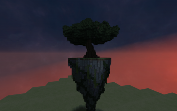 flying island omega tree