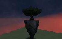 flying island omega tree