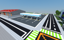 Gas Station (with truck stop)