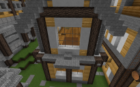 2 story rustic house
