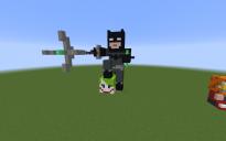 Batman on Jokers head