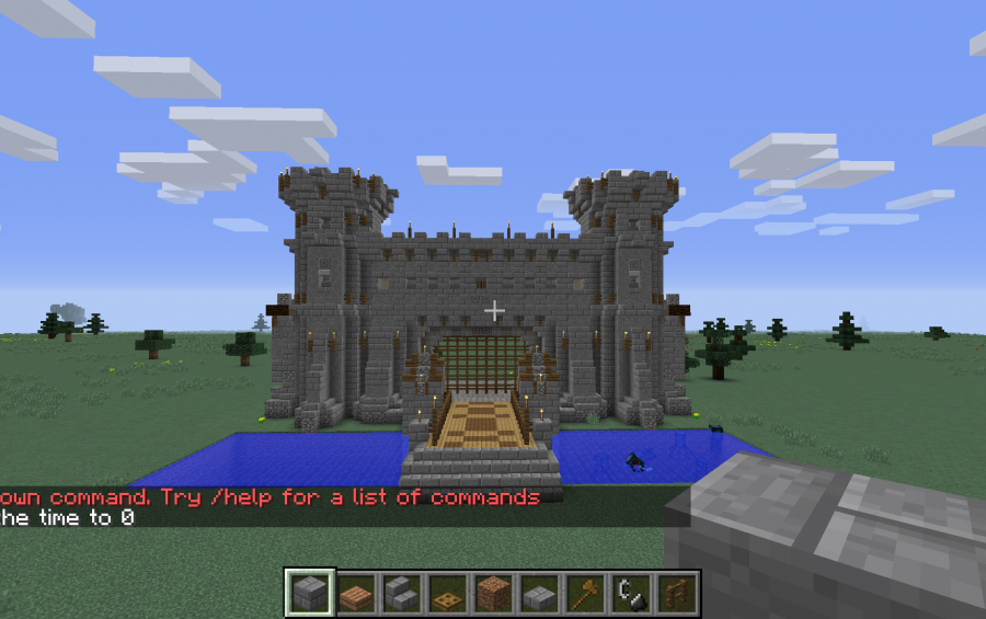 castle gate - Minecraft Japanese Gate