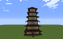 Asian 6 Storey Pagoda