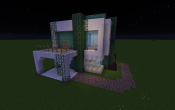 Maison Moderne Style Aqua