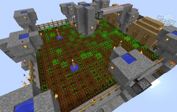 Full Automatic Wheat Farm #3 : Flood