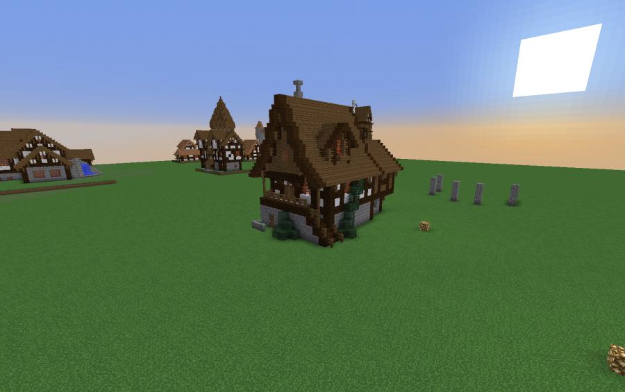 wooden house minecraft - Biggest Minecraft House In The World 2013