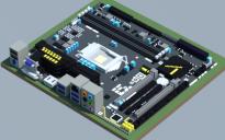 Intel Z170M-D3H (Gigabyte)