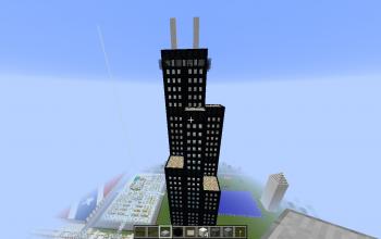 Minecraft skyscraper schematics - Minecraft hochhaus ...