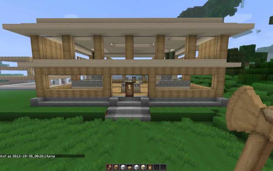 88 Gambar Rumah Modern Di Minecraft Pe Gratis Terbaik Gambar Rumah