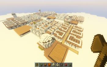 Npc desert village makeover into town