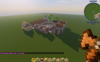 NPC village Makeover