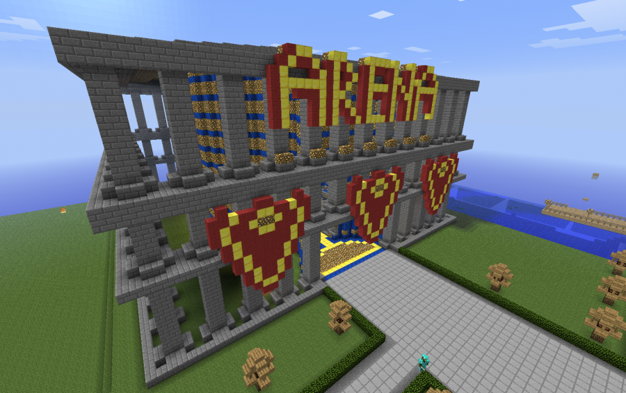 Arena, creation #108 on minecraft lighthouse, minecraft 747 crash, minecraft ideas, minecraft nether dragon, minecraft airport, minecraft adventure time, minecraft stuff, minecraft designs, minecraft bom, minecraft controls, minecraft tools, minecraft dragon head, minecraft charts, minecraft texture packs, minecraft books, minecraft kingdom map, minecraft projects, minecraft at at, minecraft wool art,