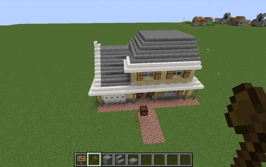 Minecraft Map Maison. Perfect Interesting Good Comment Construire ...