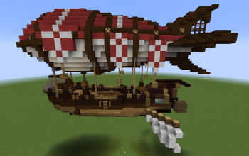 Rocket Airship Medium size (modded)