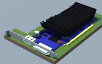 NVIDIA GeForce GT 1030 LP (ASUS)