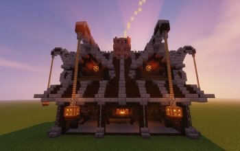abadorian blacksmith house - Minecraft Japanese Gate
