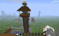 Wood and Stone Watchtower