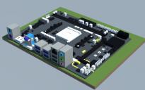 AMD A320AM4-M3 (Elitegroup)
