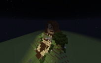 Scandinavian Ancient house