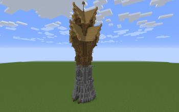 Fantasy Wizard Tower